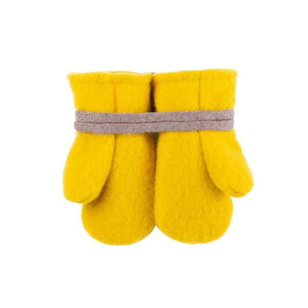 Mănuși Pure Pure fleece lână merinos – lemon curry