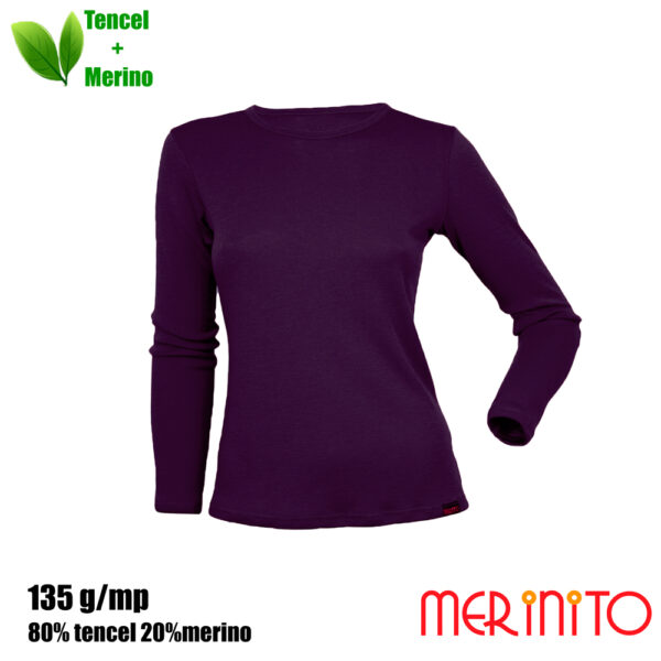 Bluza femei Merinito - Hyacinth Violet