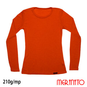 Bluza femei Merinito Orange Bliss