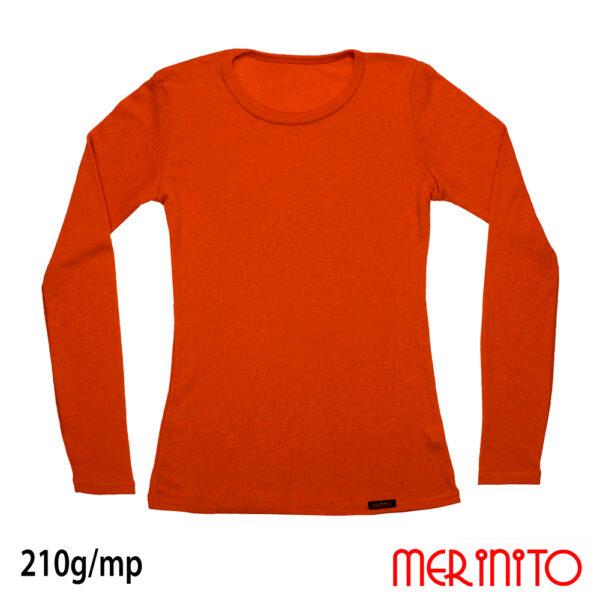 Bluza femei Merinito Orange Bliss