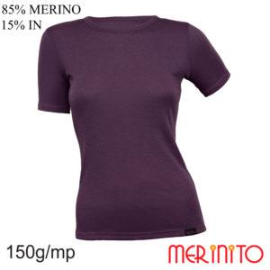 Tricou Merinito femei Prune D080_PN