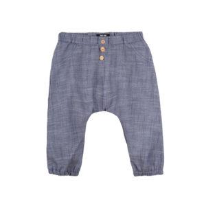 Pantaloni Pure Pure muselină - Navy Blue