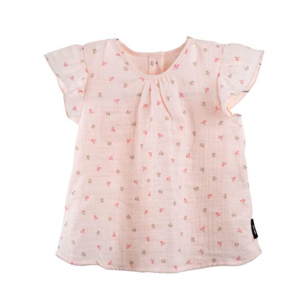 Tricou Pure Pure muselină - Peach Blush