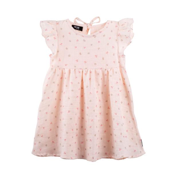 Rochie Pure Pure muselină - Peach Blush