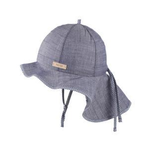 Pălărie Pure Pure ajustabilă bumbac organic - Navy Blue