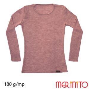 Bluza femei RIB Pointelle Poudre