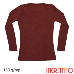 Bluza femei RIB Pointelle Cocoa Brown