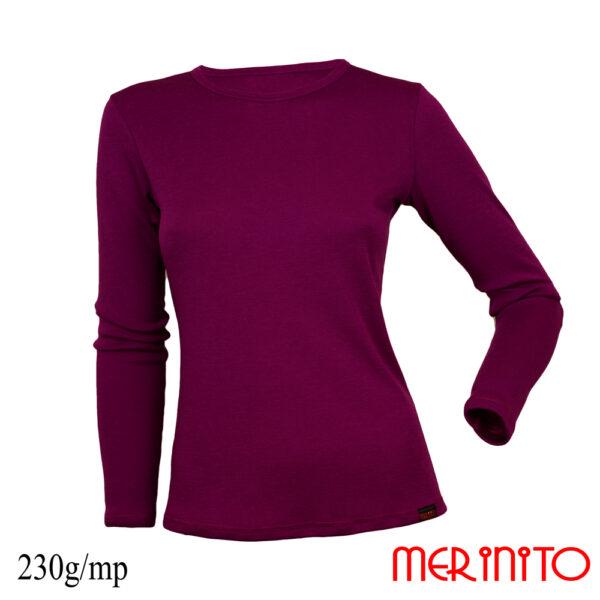 Bluza femei Merinito Violet