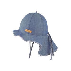 Pălărie Pure Pure Light ajustabilă bumbac organic - Denim