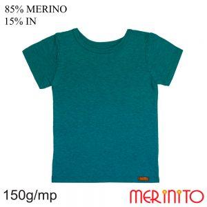 Tricou copii Merinito 85% lână merinos si 15% in - Seaport