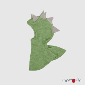 40683_ManyMonths® Natural Woollies Dino Hood UNiQUE Jade Green_1500px